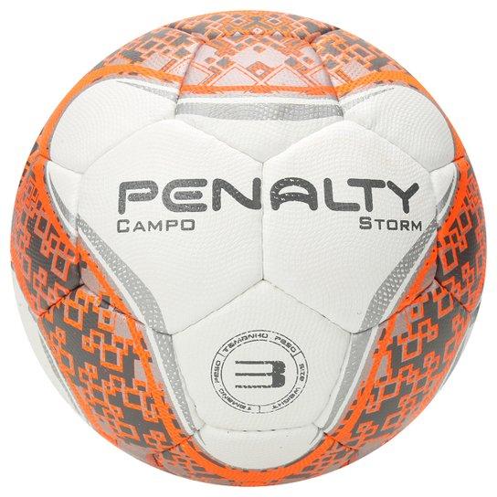 Bola Futebol Campo Penalty Storm Com Costura A Mao N3 6 - Branco+prata 3b7053ab3fb87