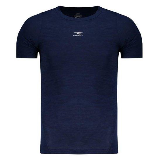 d9a37527fa Camisa De Compressão Penalty Max Flex UV 50 Masculina - Marinho ...