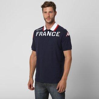 6dd91e2dce9b0 Camisa Polo Kappa Eroi França