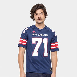 Camiseta New England Kappa Futebol Americano Masculina b7f7ebf4c3178