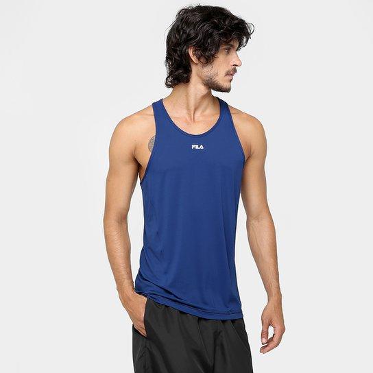 Camiseta Regata Fila Bio - Marinho - Compre Agora  1e386474b7b