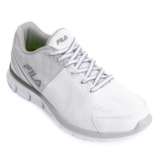 caa0771c4b Tênis Fila Half Feminino - Branco e Cinza | Netshoes