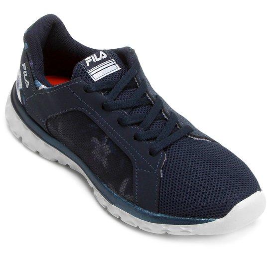 10a4ef15d62 Tênis Fila Lightstep Comfort 2.0 Feminino - Marinho - Compre Agora ...