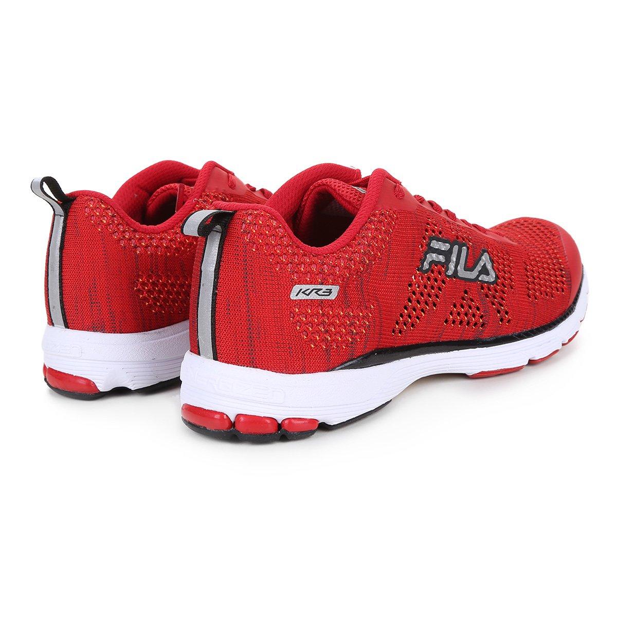 28d258220be Tênis Fila Kr3 Knit Feminino - Tam  36 - Shopping TudoAzul