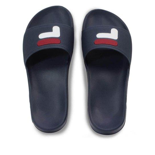 5e227a09422 Chinelo Slide Fila Flip Flop Masculino - Marinho - Compre Agora ...