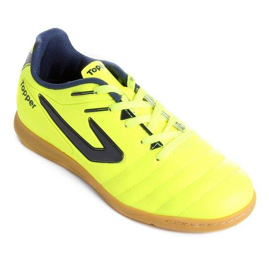 Chuteira Futsal Infantil Topper Boleiro - Marinho - Compre Agora ... 89524fc9e7723
