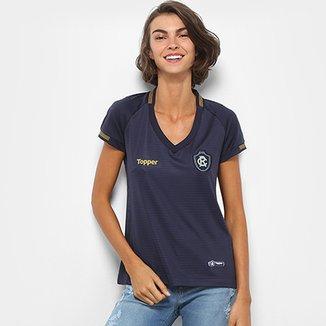 e8ba138c1eccf Camisa Remo I 2018 s n° Torcedor Topper Feminina