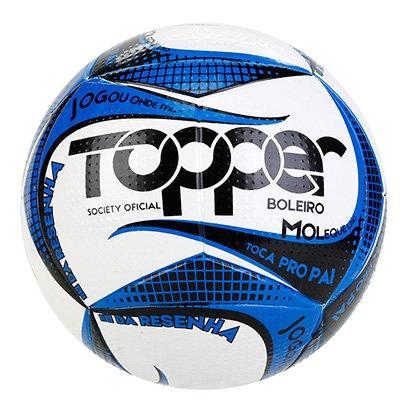 Bola de Futebol Society Topper Boleiro 2019 Tecnofusion