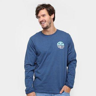 Camiseta Oakley Wall Paint Ls Tee Manga Longa Masculina 80740ff67c6