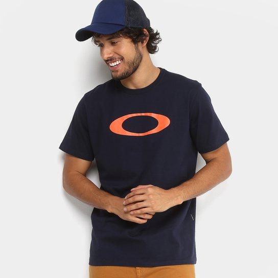 c19e276c6e649 Camiseta Oakley O-Ellipse Tee Masculina - Marinho - Compre Agora ...