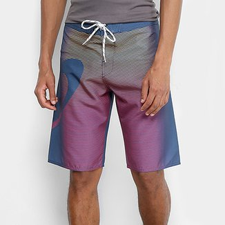 5245ed22f3 Bermuda Oakley Faded Stripes Boardshorts Masculina