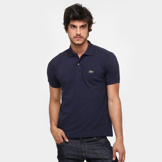 a8692fc5635 Camisa Polo Lacoste Original Fit Masculina - Marinho - Compre Agora ...