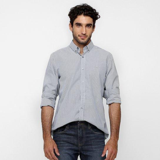 d78bbf0f3dafc Camisa Lacoste Classic Fit Listras - Compre Agora