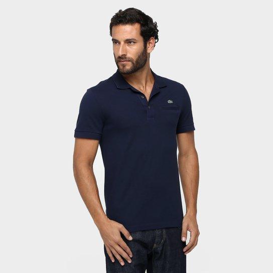 Camisa Polo Lacoste Piquet Bolso Masculina - Compre Agora  532272e0c9e27