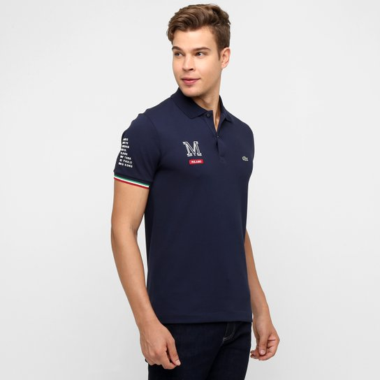 7ffdc6c7f25 Camisa Polo Lacoste Milano - Compre Agora