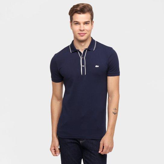 826888688abeb Camisa Polo Lacoste Slim Fit - Compre Agora