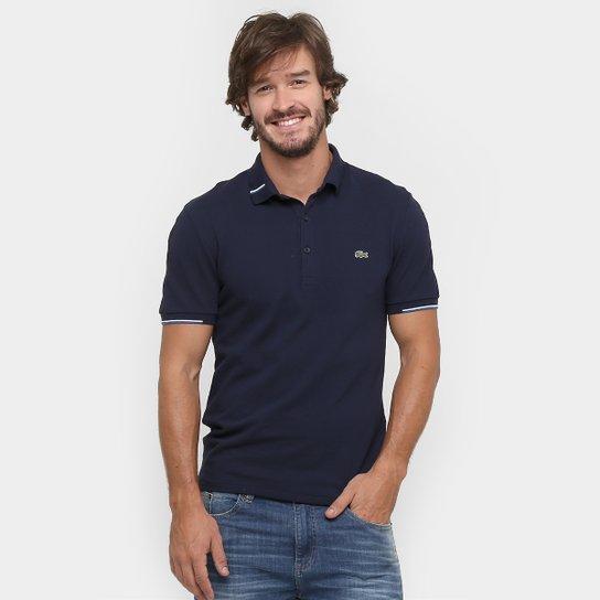 Camisa Polo Lacoste Piquet 2 Cabos - Compre Agora  702f841075b24