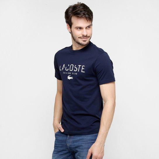 Camiseta Lacoste Sailing Club - Compre Agora   Netshoes 2123e22ae3