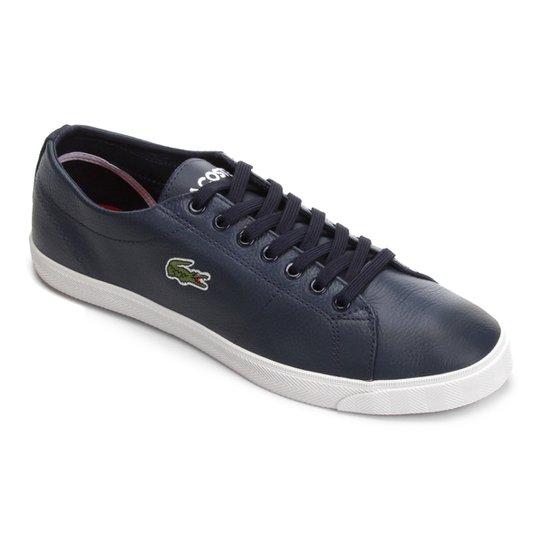 Tênis Lacoste Marcel Masculino - Marinho - Compre Agora   Netshoes 08b8a9a1a9