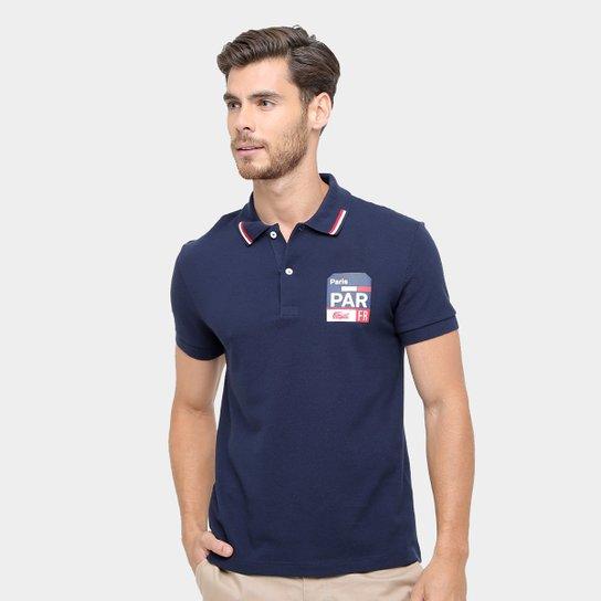 4043ba0400e80 Camisa Polo Lacoste Piquet Fit Paris Masculina - Compre Agora   Netshoes