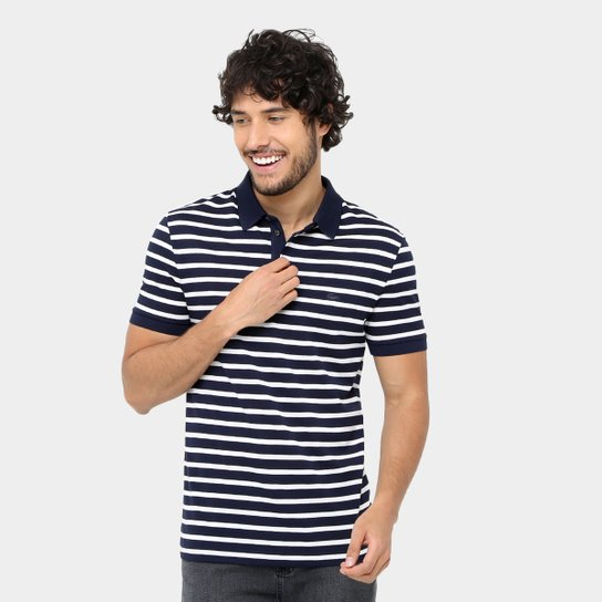 563b58a9d8 Camisa Polo Lacoste Piquet Listrada Slim Masculina - Compre Agora ...