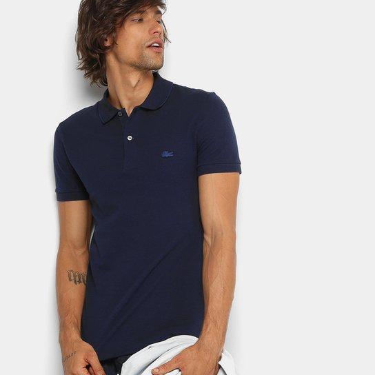 c35caac332f0 Camisa Polo Lacoste Piquet Regular Fit Masculina - Marinho | Netshoes