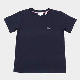 7d8c0e6d78797 Camiseta Infantil Lacoste Logo Masculina