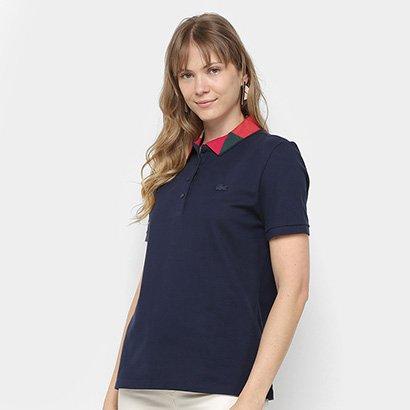 Camisa Polo Lacoste Lisa Feminina