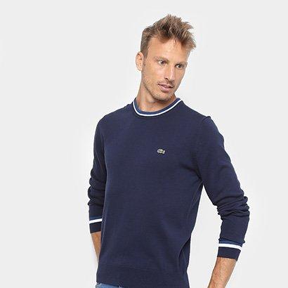 Suéter em Tricô Lacoste Masculino