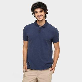 Camisa Polo Calvin Klein Piquet Estampa Relevo 49cb686a42254