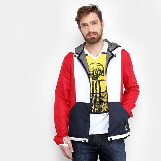 91b07c92aeb Jaqueta Calvin Klein Recorte Masculina - Compre Agora