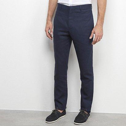 Calça Linho Calvin Klein Alfaiataria Masculina