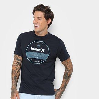 2504e41526745 Camiseta Hurley Silk Sweallagon Tribeland Masculina