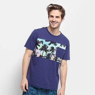 Camiseta Mood Tropical Bolso Masculina e526796aa27
