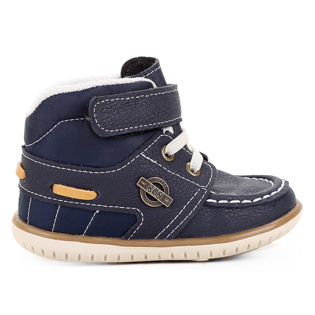 fbf5cd281 Sapato Infantil Klin Cravinho Cano Alto Masculino | Livelo -Sua Vida ...