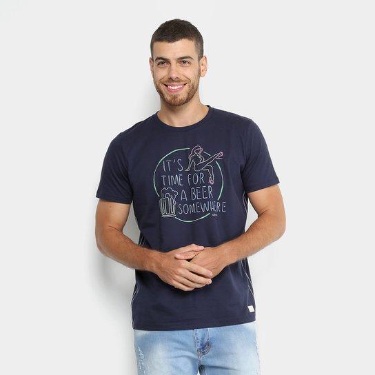 44dd59a547 Camiseta Manga Curta Colcci Estampada Masculina - Compre Agora ...
