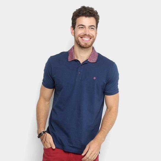 b8ebaaadbb Camisa Polo Forum Gola Geométrica Masculina - Compre Agora
