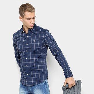 eb823ffbff625 Compre Camisa Xadrez Hollister Masculina Netshoes Online