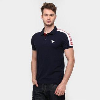 ba9cec65665 Camisa Polo RG 518 Piquet Recorte Ombro