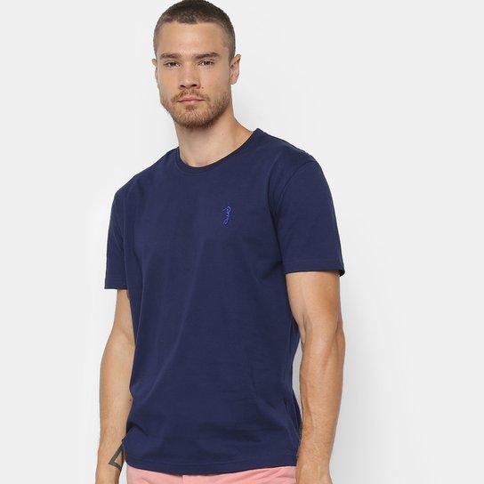 921500fa0a Camiseta Aleatory Básica Masculina - Marinho - Compre Agora