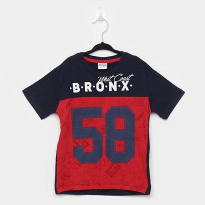 Camiseta Infantil Fakini Bronx Masculina