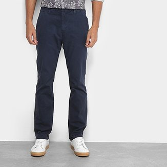 Calça Replay Sarja Chino Masculina