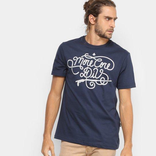 bfe9fc7efff9c Camiseta MCD Regular Gaff Masculina - Marinho - Compre Agora