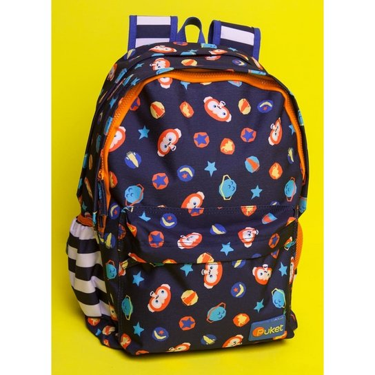 663a091d6 Mochila Infantil Puket Macaco Space Masculino | Netshoes
