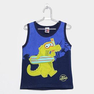 Camiseta Regata Infantil Tip Top Tod Masculina 3242b926025