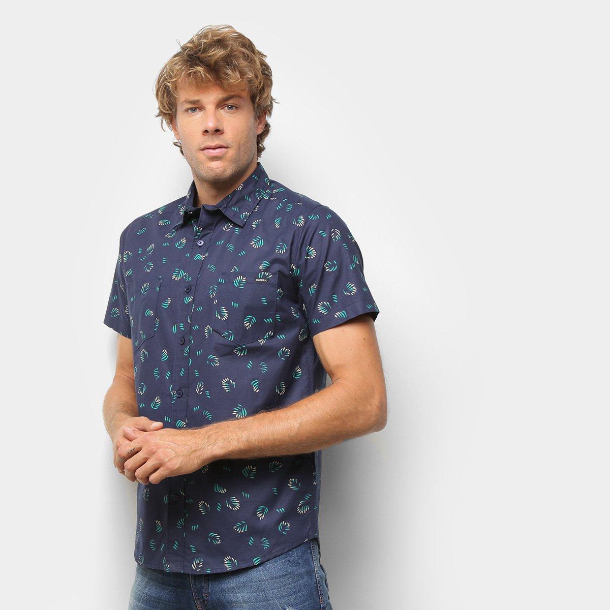 Camisa O'Neill Folhagens Masculina