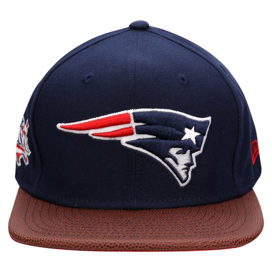 Boné New Era NFL 950 Super Bowl Champion XXXIX New England Patriots -  Marinho+Vinho 2809f5f643c96