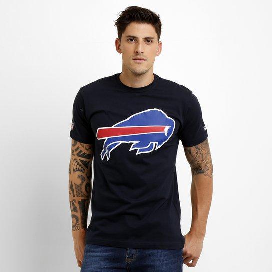 Camiseta New Era NFL Permanente Buffalo Bills - Marinho - Compre ... 6de6cc52b772b