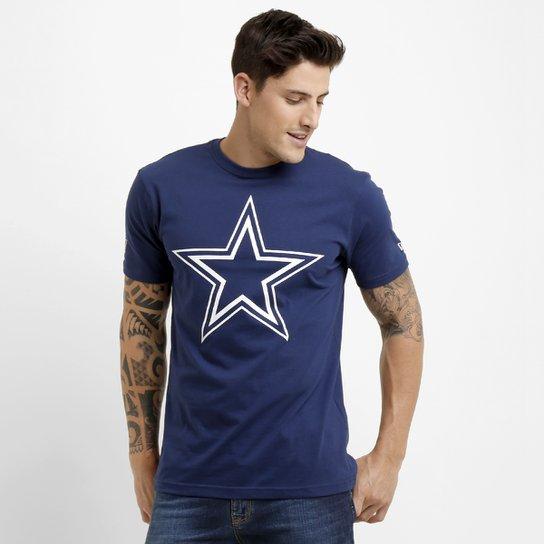 6c259e488 Camiseta New Era Permanente Dallas Cowboys - Marinho - Compre Agora ...
