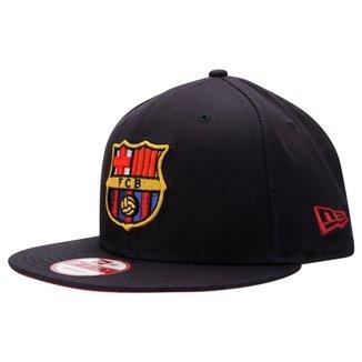 Boné New Era Barcelona 9FIFTY Aba Reta 1bc53b674e8